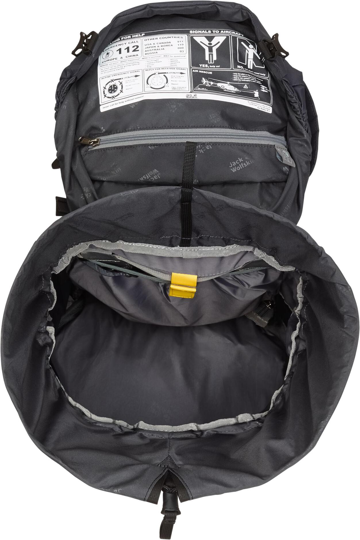 89ad9423b8f Jack Wolfskin Highland Trail XT 50 Backpack grey at Addnature.co.uk